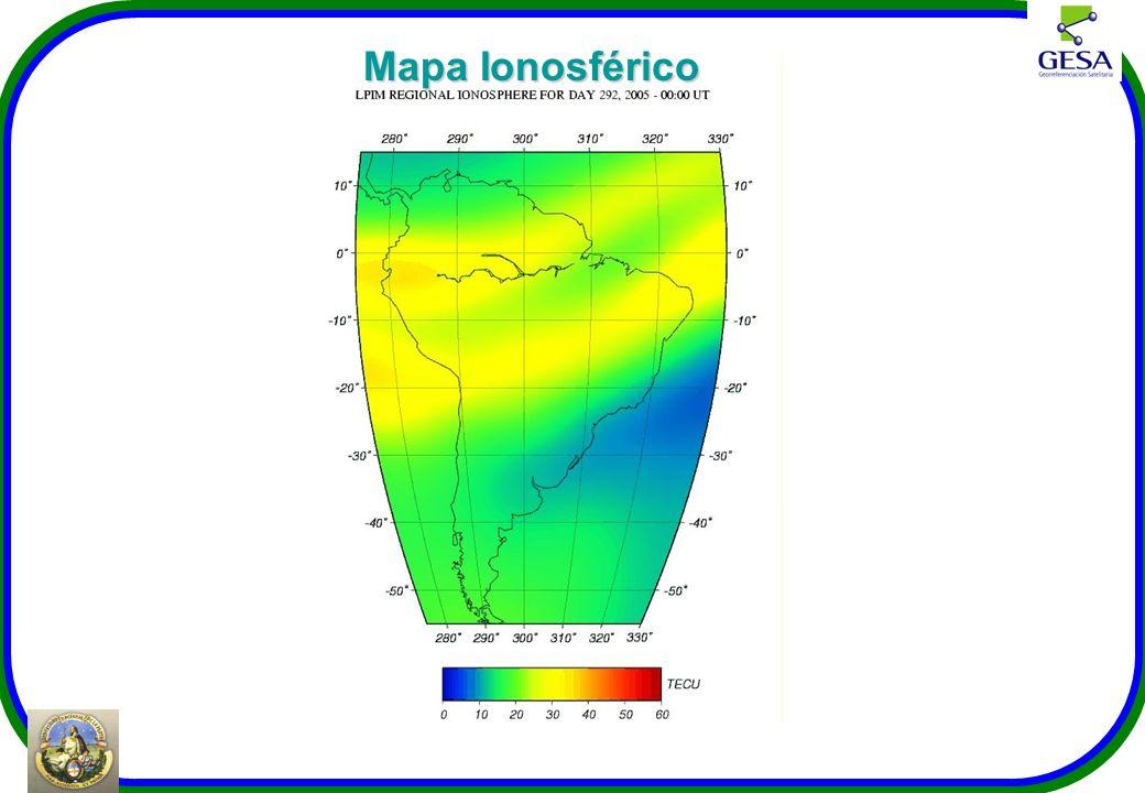 Mapa Ionosférico