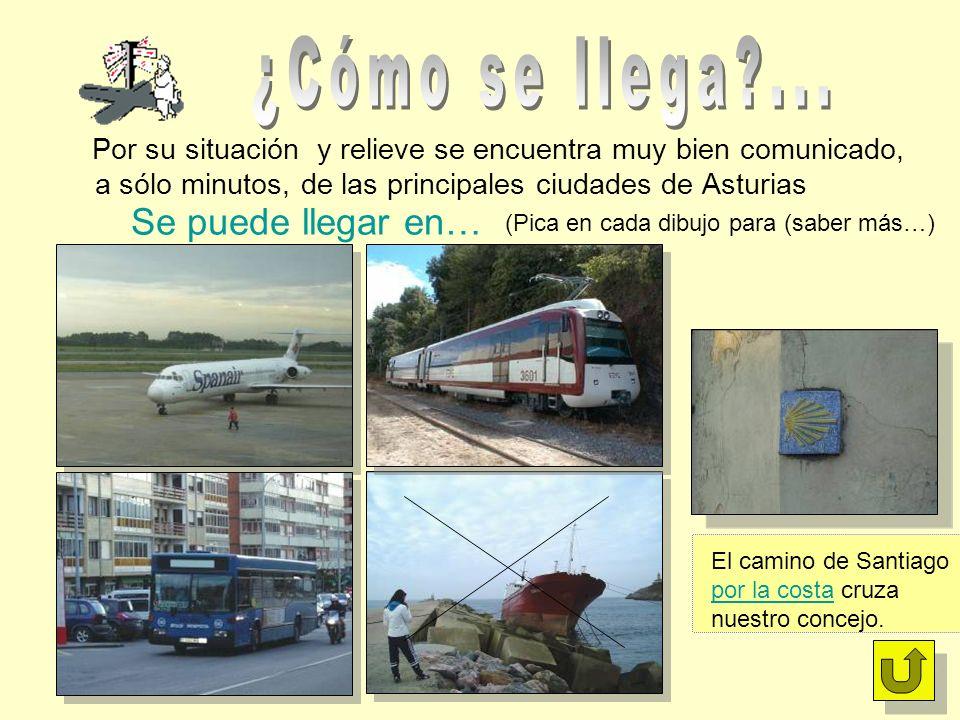 Por su situación y relieve se encuentra muy bien comunicado, a sólo minutos, de las principales ciudades de Asturias Se puede llegar en… El camino de