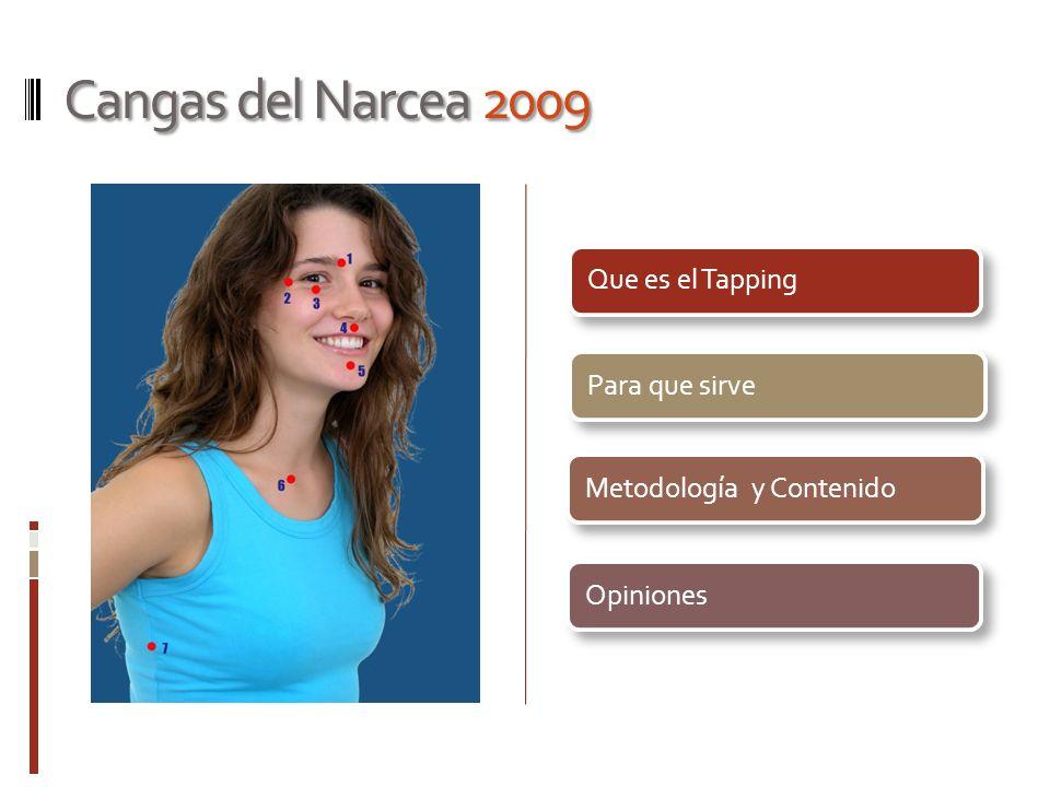 Cangas del Narcea 2009 Que es el TappingPara que sirveMetodología y ContenidoOpiniones