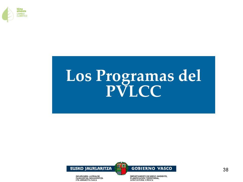 38 Los Programas del PVLCC