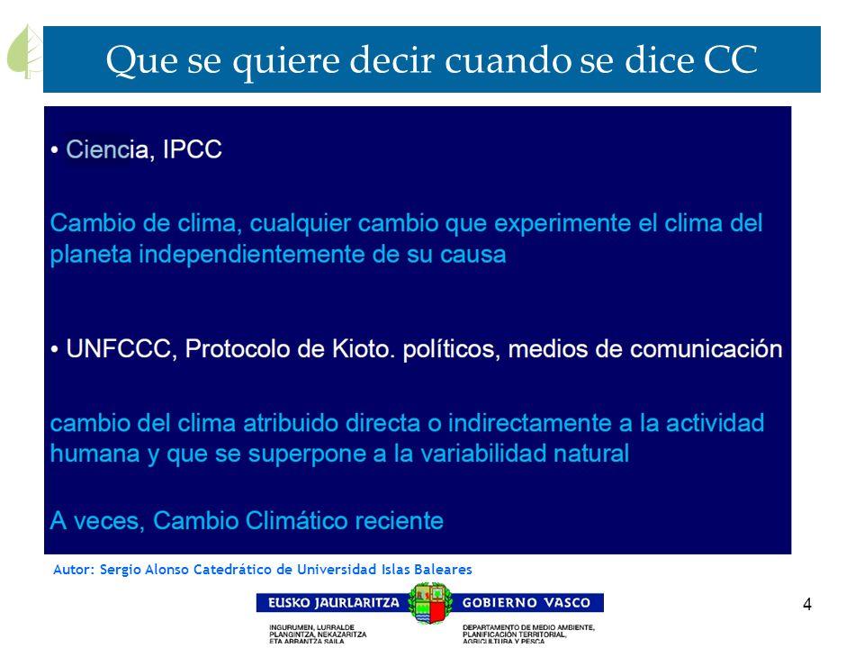 4 Que se quiere decir cuando se dice CC Autor: Sergio Alonso Catedrático de Universidad Islas Baleares