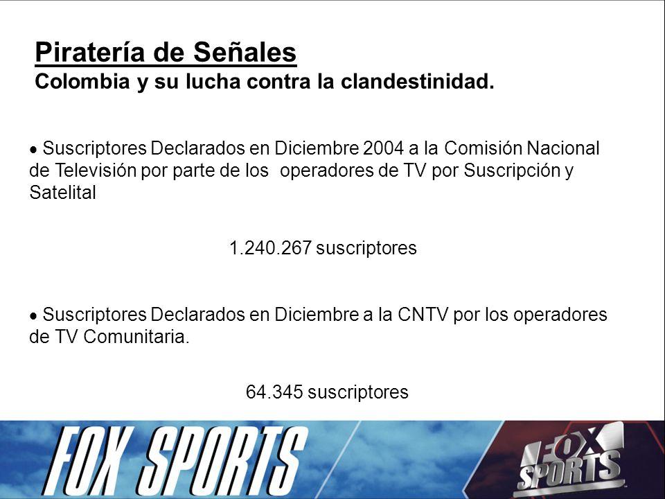 El ÉXITO DE LA INDUSTRIA DE LA TELEVISIÓN POR CABLE DEPENDE DEL COMPROMISO DE TODOS CON LA TRANSPARENCIA.
