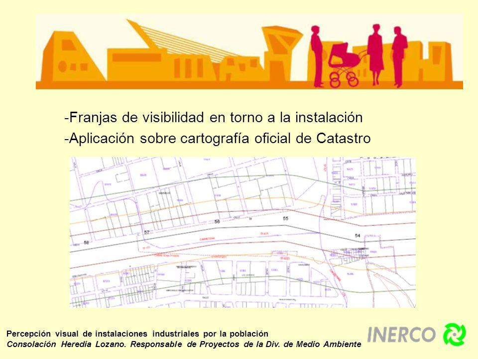 Percepción visual de instalaciones industriales por la población Consolación Heredia Lozano. Responsable de Proyectos de la Div. de Medio Ambiente -Fr