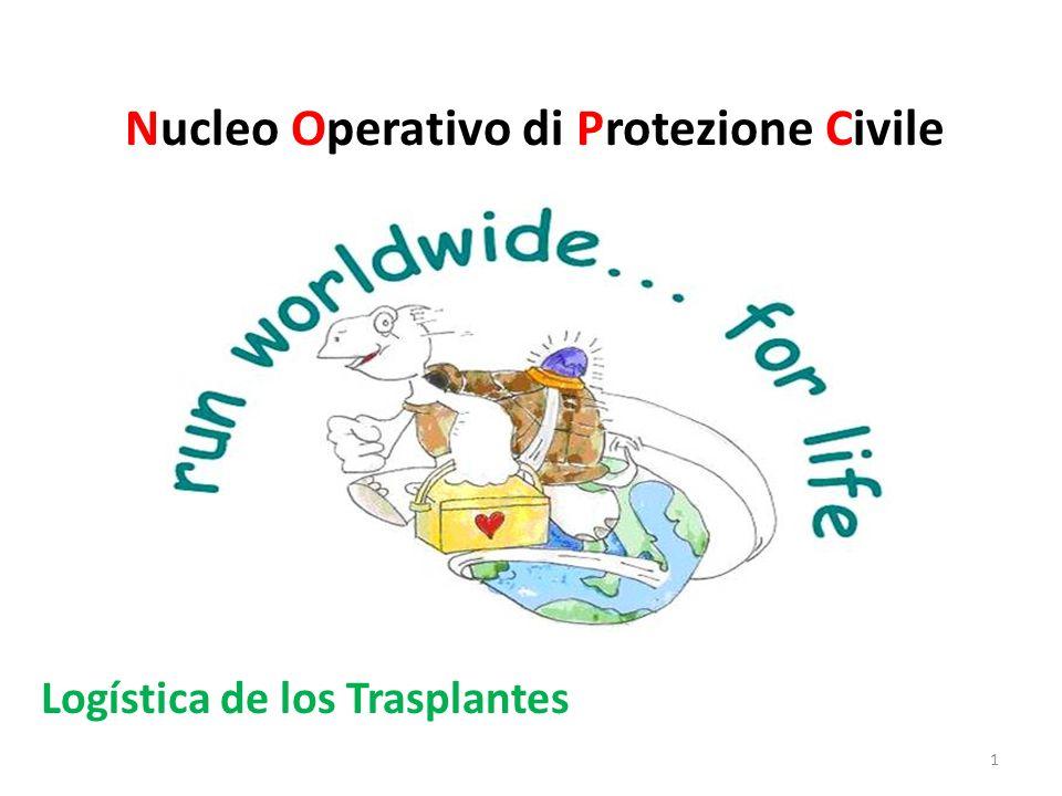 Nucleo Operativo di Protezione Civile Logística de los Trasplantes 1