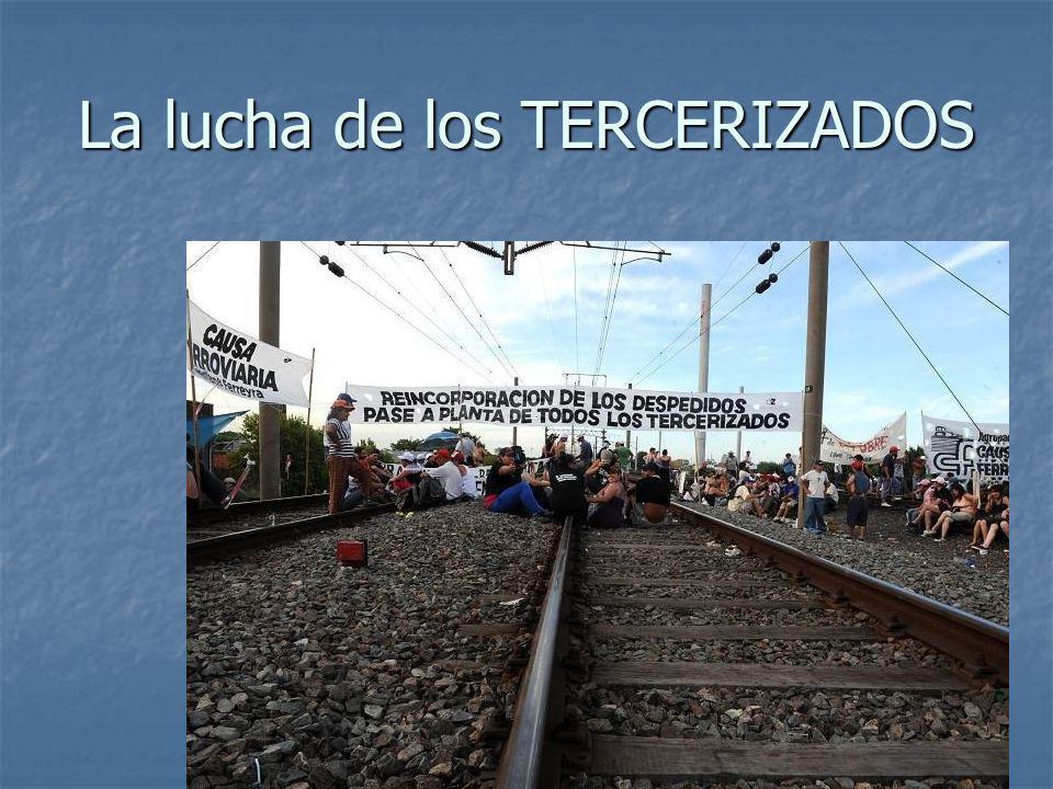TERCERIZADOS Homenaje a Mariano Ferreira Homenaje a Mariano Ferreira