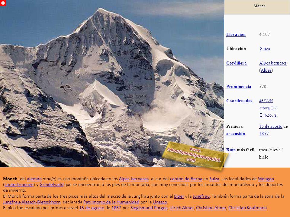 El Aiguille Verte es un afilado pico de los Alpes, en el macizo del Mont Blanc, en Francia, que forma parte de la arista que hace de separación entre