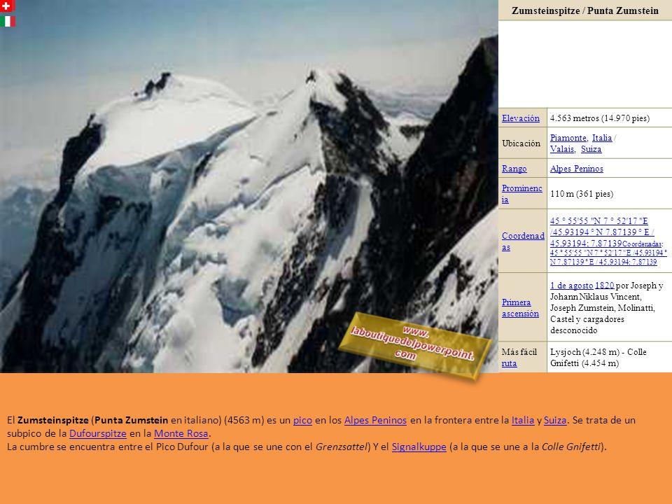 El Schreckhorn (literalmente Cuerno del miedo) es una cima de más de 4.000 metros, considerada por los especialistas como una de las más difíciles de