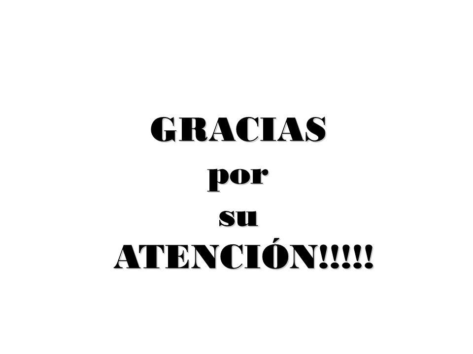 GRACIASporsu ATENCIÓN!!!!! ATENCIÓN!!!!!