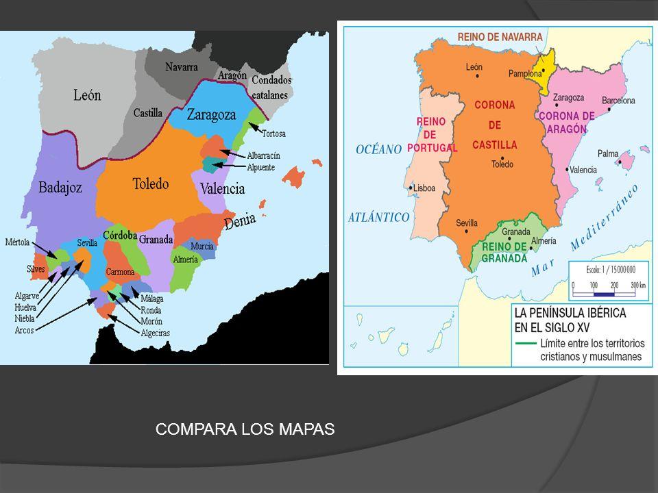 COMPARA LOS MAPAS
