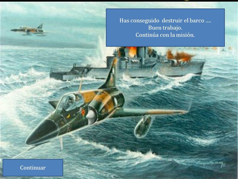 Para destruir los barcos tienes que responder a la siguiente pregunta.