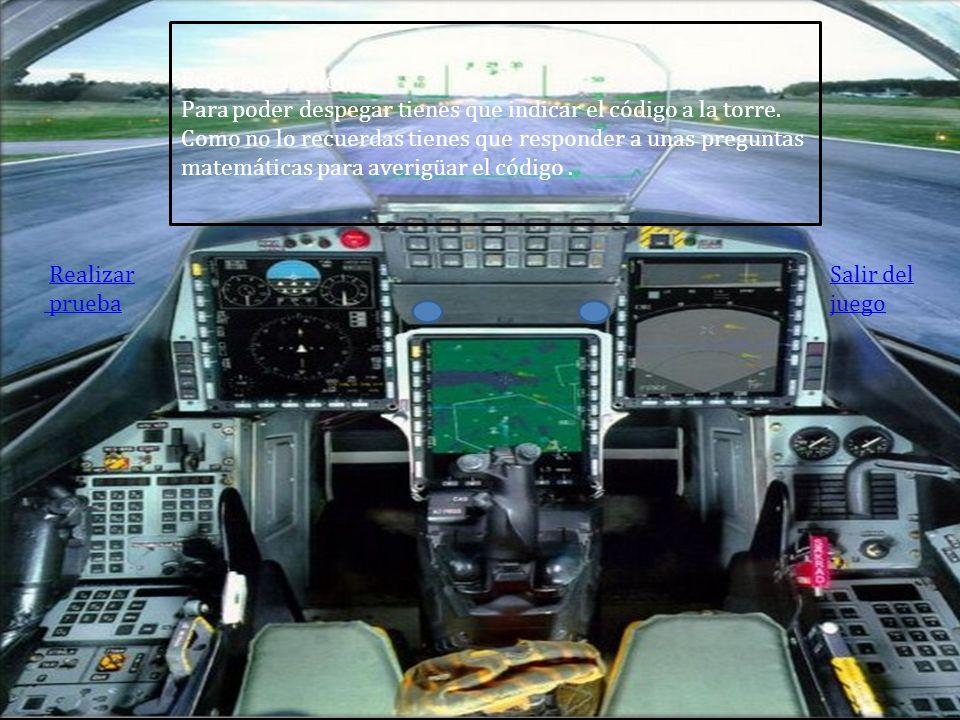 Posición en el mapa Posición del avión Para continuar clica en tu posición e iras al avión Dale a la flecha para continuar