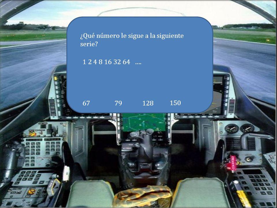 Estás en el avión… Para poder despegar tienes que indicar el código a la torre.