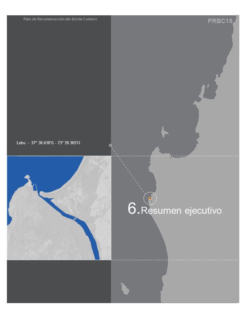 PRBC18 Plan de Reconstrucción del Borde Costero Lebu - 37° 36.618 S - 73° 39.365 O 6.
