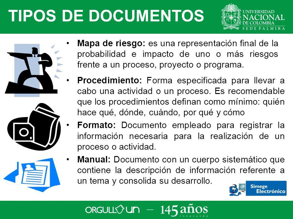 Procedimiento: Forma especificada para llevar a cabo una actividad o un proceso.