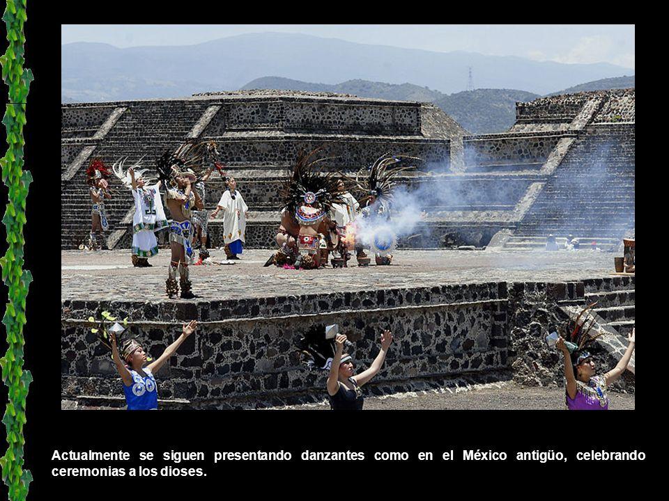 Fragmento de obra mural localizada dentro del Templo de la Agricultura, en Teotihuacán.