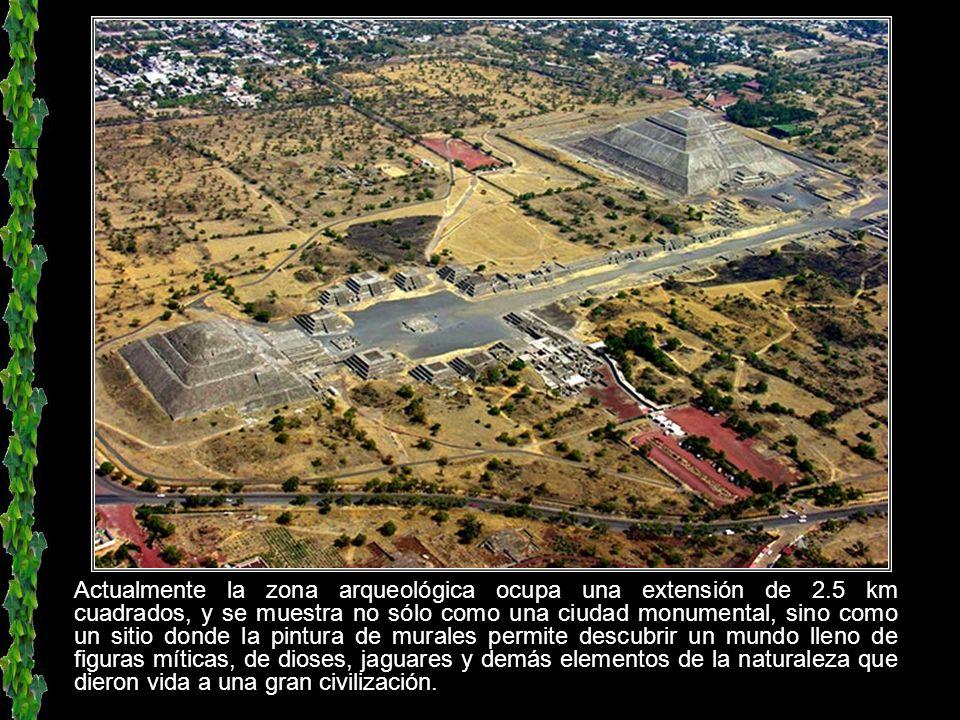 El significado de Teotihuacán se compone de teolt, dios; hua, posesivo, y can, lugar. Y significa: Lugar de los que tienen dioses o Lugar que tienen a