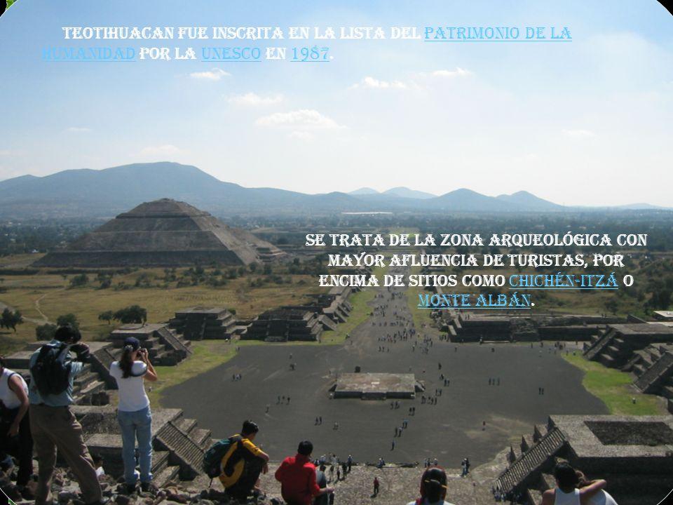 Actualmente la zona arqueológica ocupa una extensión de 2.5 km cuadrados, y se muestra no sólo como una ciudad monumental, sino como un sitio donde la