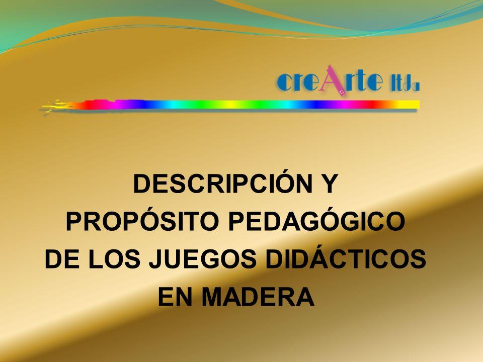 ORIENTACION ESPACIAL DESCRIPCION : 40 Fichas de 7 x 7 cm c/u con 4 bases con marco, cada una de 40,0 x 20,5 cm.