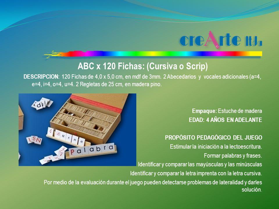 PENTOMINÓ X 4 DESCRIPCION : 4 juegos de fichas, cada juego de 12 fichas en madera al natural de 1,5 cm de espesor.