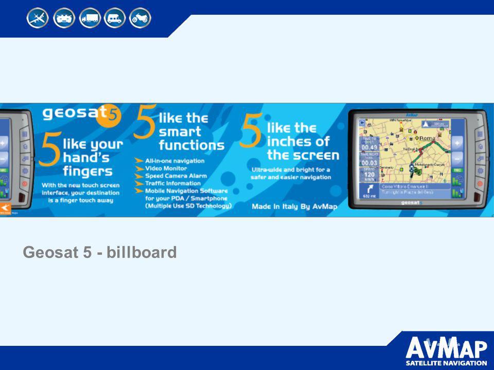 Geosat 5 - billboard