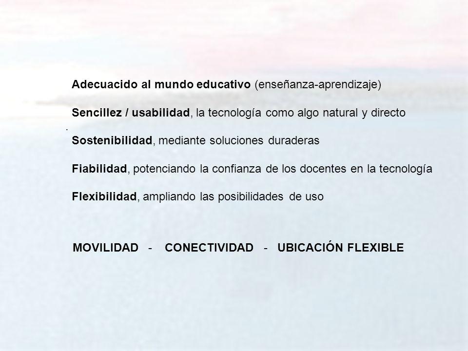 melchor.gomez@uam.es Universidad Autónoma de Madrid Adecuacido al mundo educativo (enseñanza-aprendizaje) Sencillez / usabilidad, la tecnología como a