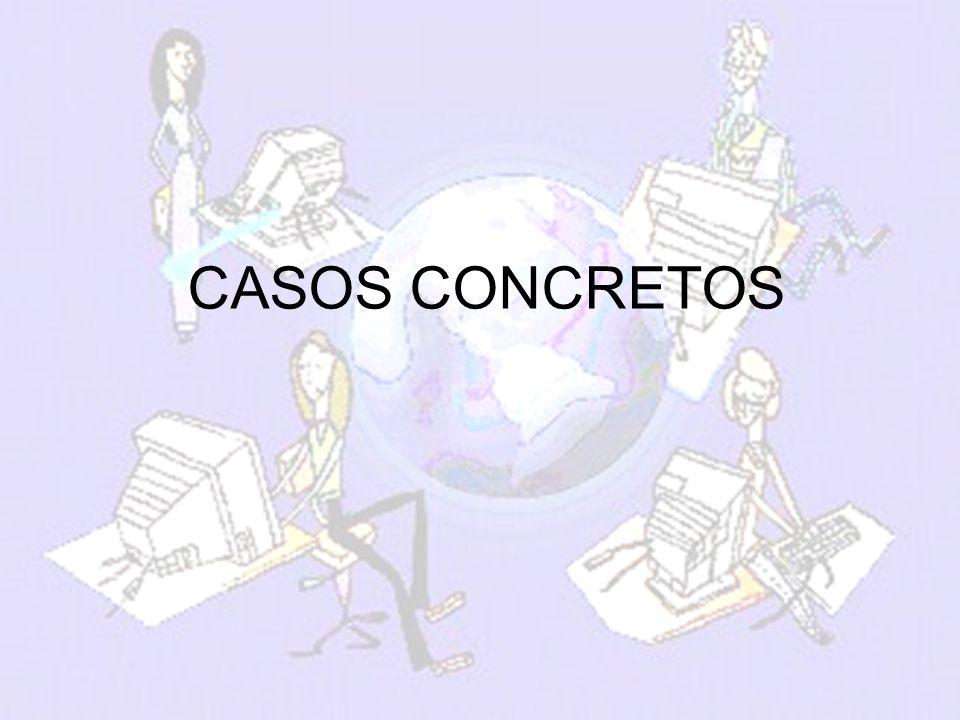 melchor.gomez@uam.es Universidad Autónoma de Madrid CASOS CONCRETOS