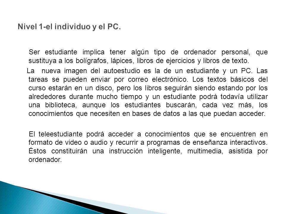 Ser estudiante implica tener algún tipo de ordenador personal, que sustituya a los bolígrafos, lápices, libros de ejercicios y libros de texto.