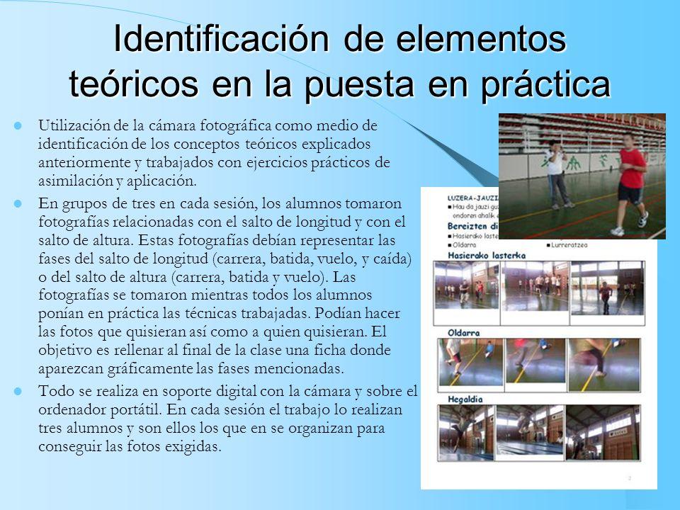 Autoevaluación e interpretación de datos Utilización del ordenador portátil en el contexto del polideportivo municipal, a modo de quiosco de informaci