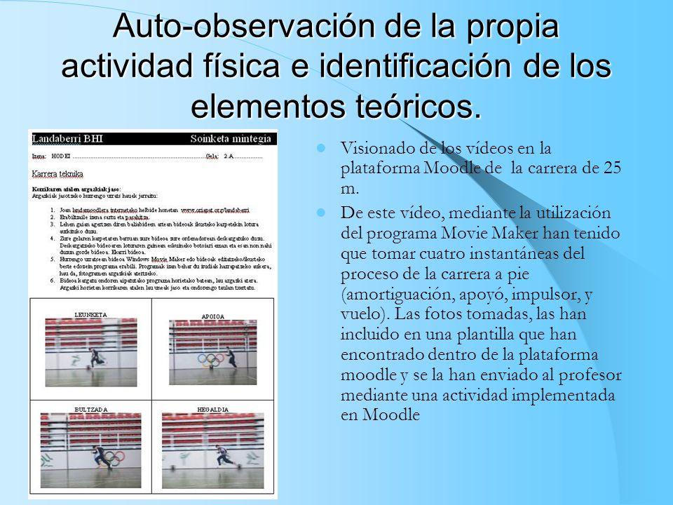 Utilización de la cámara fotográfica como medio de identificación de los conceptos teóricos explicados anteriormente y trabajados con ejercicios práct