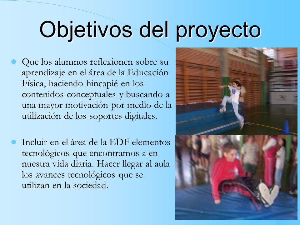 Contexto del proyecto Nombre del proyecto: Las nuevas tecnologías en la Educación Física. Centro Educativo: IES LANDABERRI, de Lasarte-Oria (Guipúzcoa
