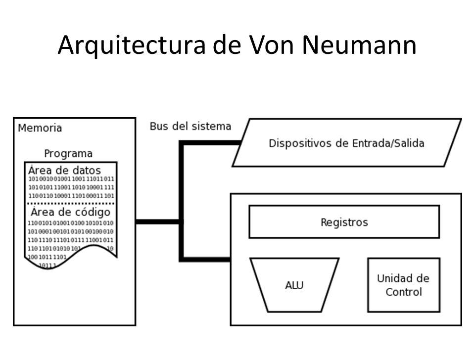 Arquitectura de Von Neumann