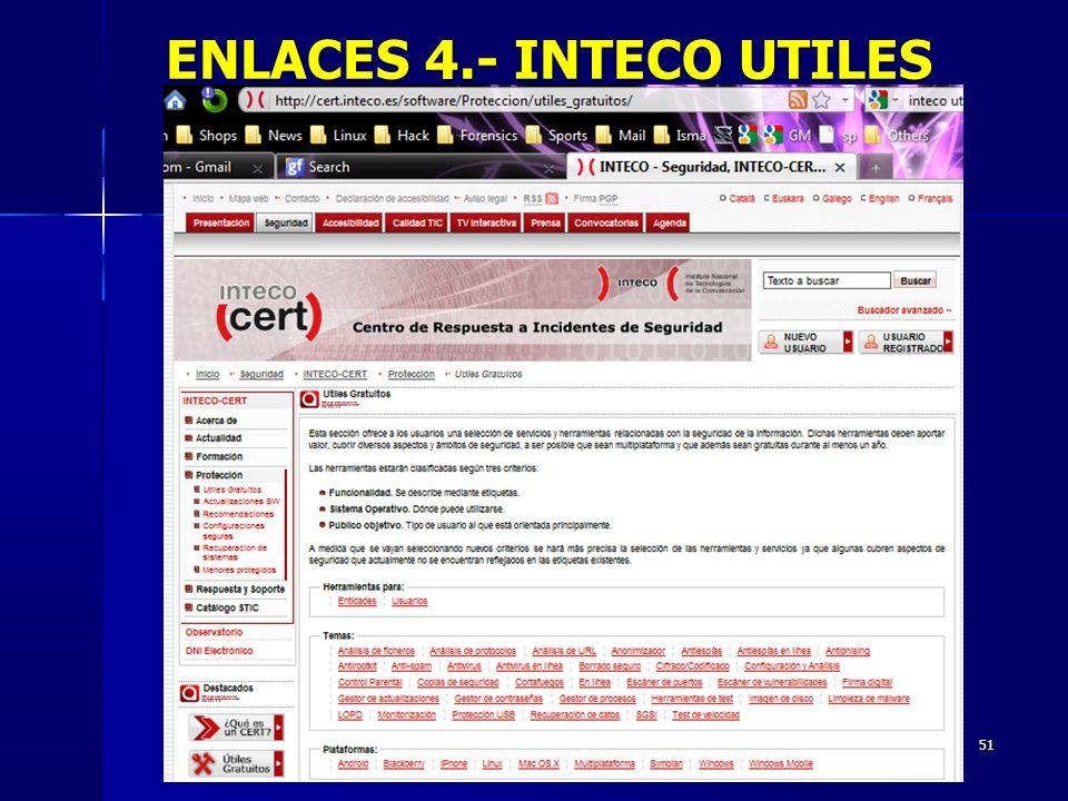 51 ENLACES 4.- INTECO UTILES