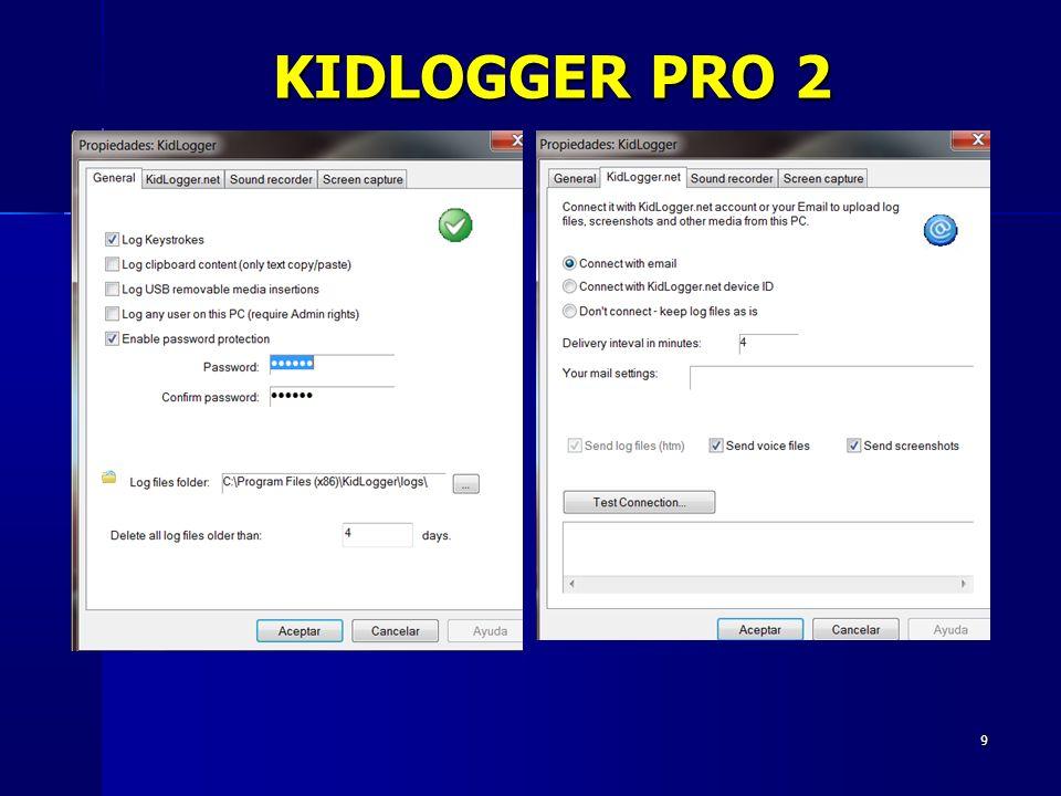 9 KIDLOGGER PRO 2