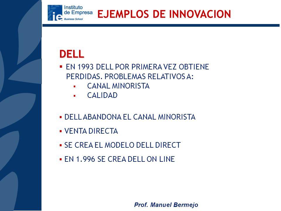 Prof. Manuel Bermejo AMANCIO ORTEGA 1.960 BATAS Y CAMISONES HOYINDITEX 107.000 MM DE FACTURACION 6.800 MM DE Bº, 3.603 EMPLEADOS INGLATERRA, FRANCIA,