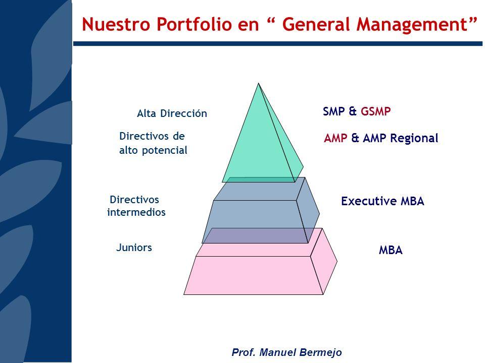 Prof. Manuel Bermejo EMPRESAS PARTICIPANTES