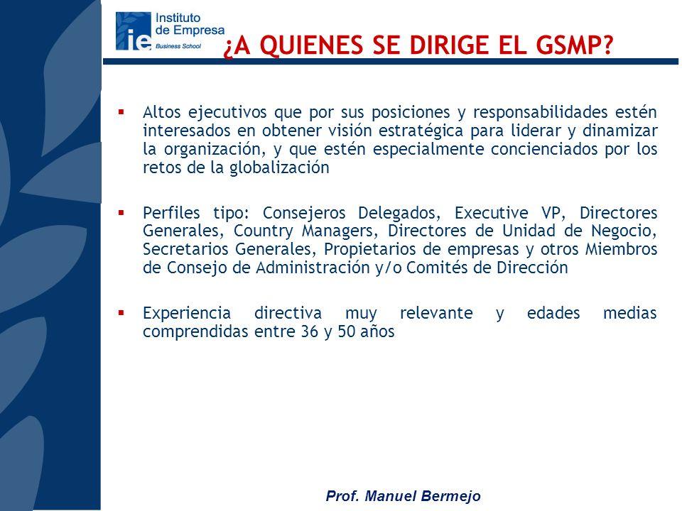 Prof. Manuel Bermejo Fundada en 1898 Segunda escuela de negocios m á s antigua de EUA. Logros 1er Ph.D. Program en business (1920) 1er Executive MBA P