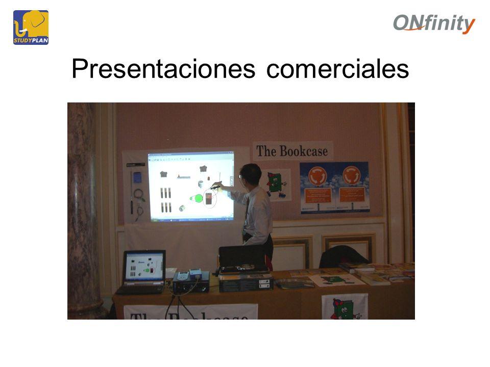 Presentaciones comerciales