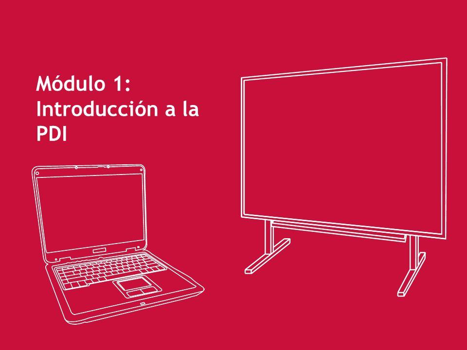 45 Funcionalidades de la PDI Proyectar información procedente del ordenador.
