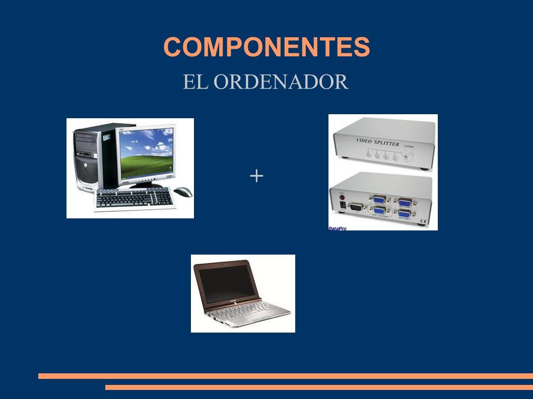 COMPONENTES EL ORDENADOR +