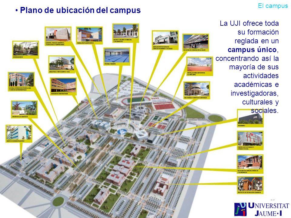 La UJI ofrece toda su formación reglada en un campus único, concentrando así la mayoría de sus actividades académicas e investigadoras, culturales y s