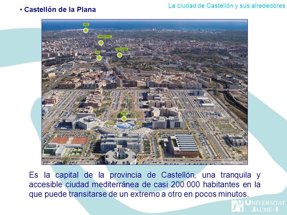 Es la capital de la provincia de Castellón, una tranquila y accesible ciudad mediterránea de casi 200.000 habitantes en la que puede transitarse de un