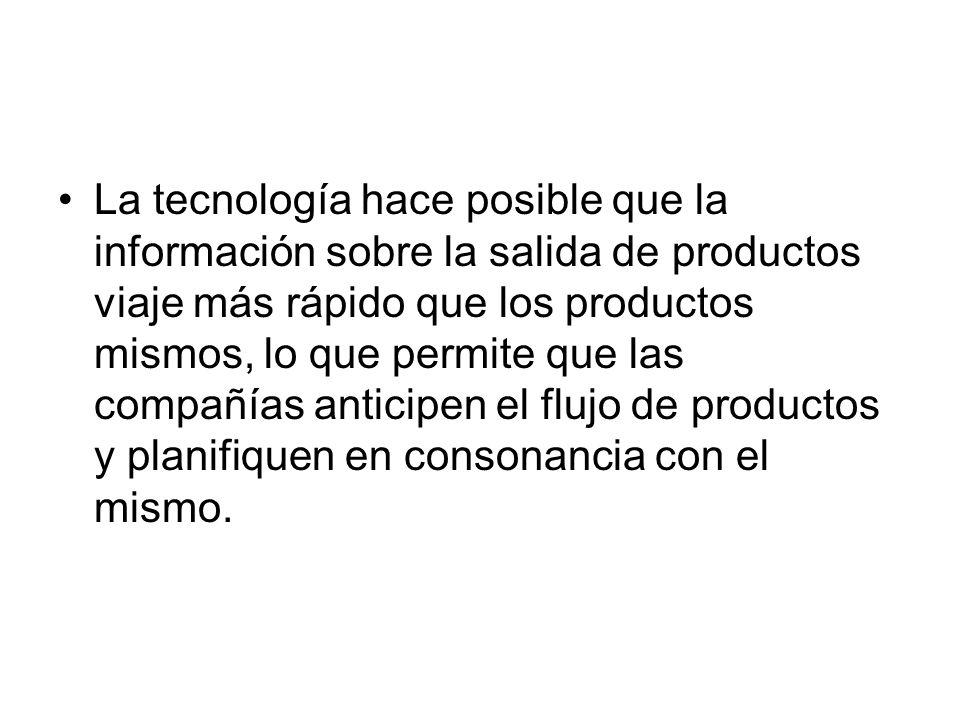 La tecnología hace posible que la información sobre la salida de productos viaje más rápido que los productos mismos, lo que permite que las compañías