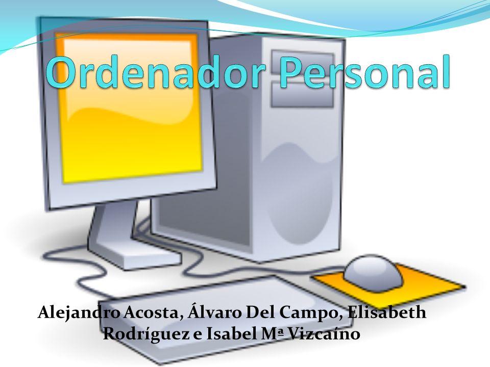 Introducción El ordenador personal, también conocido como PC (sigla en inglés de personal computer), es una microcomputadora diseñada en principio para ser usada por una sola persona a la vez.