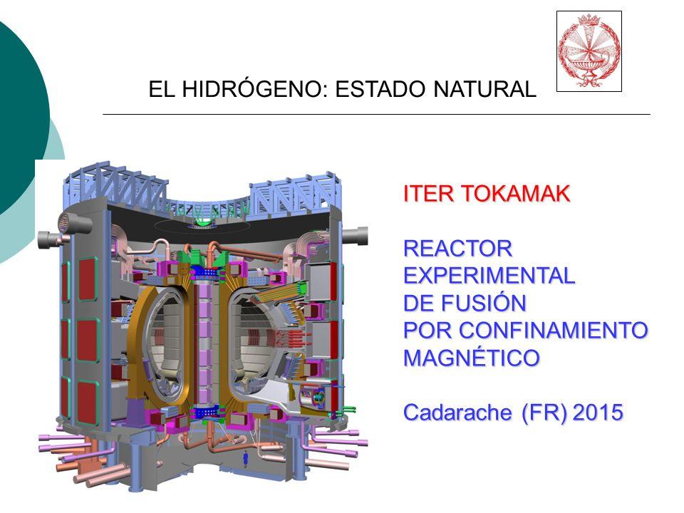 ITER TOKAMAK REACTOREXPERIMENTAL DE FUSIÓN POR CONFINAMIENTO MAGNÉTICO Cadarache (FR) 2015