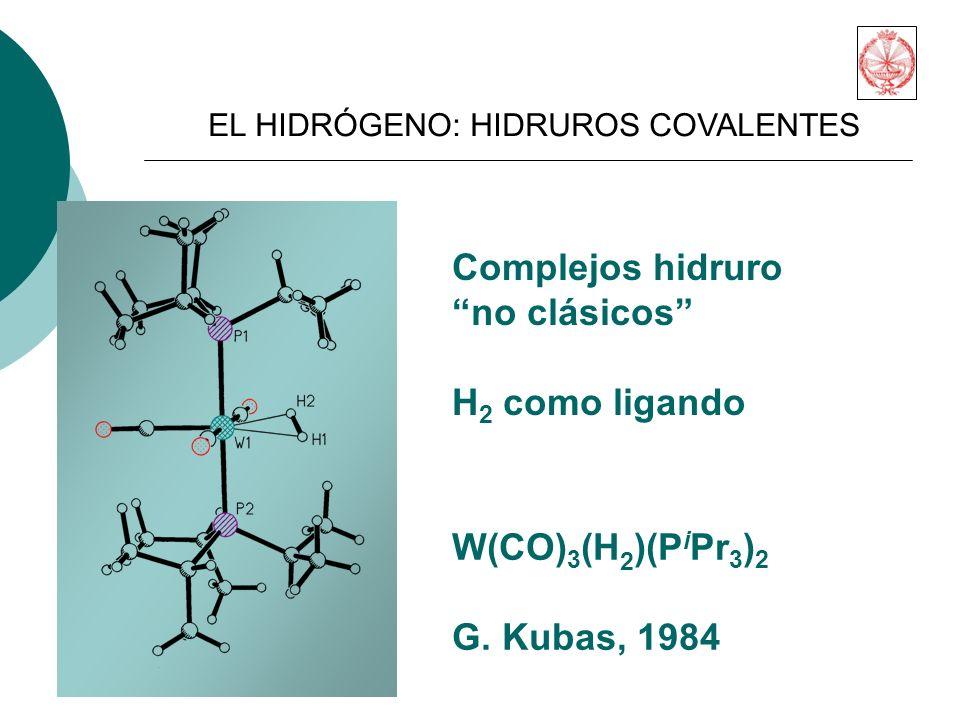 W(CO) 3 (H 2 )(P i Pr 3 ) 2 G.