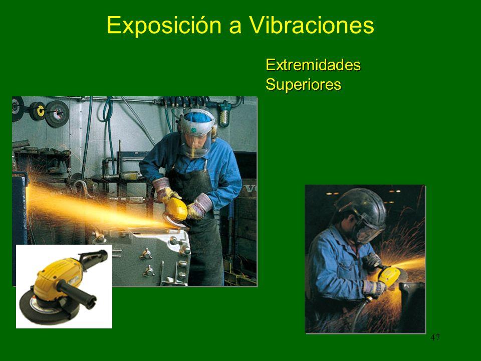 47 Exposición a Vibraciones Extremidades Superiores