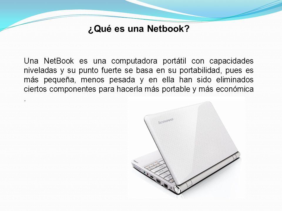 ¿Qué es una Netbook.