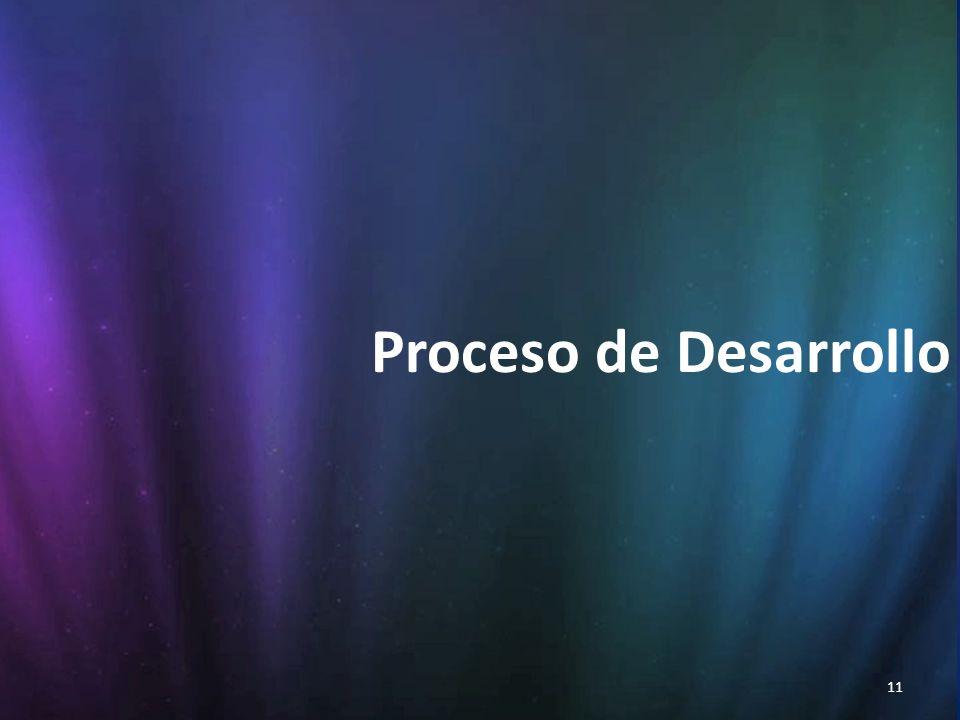 11 Proceso de Desarrollo