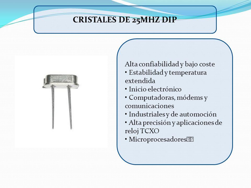 Alta confiabilidad y bajo coste Estabilidad y temperatura extendida Inicio electrónico Computadoras, módems y comunicaciones Industriales y de automoc