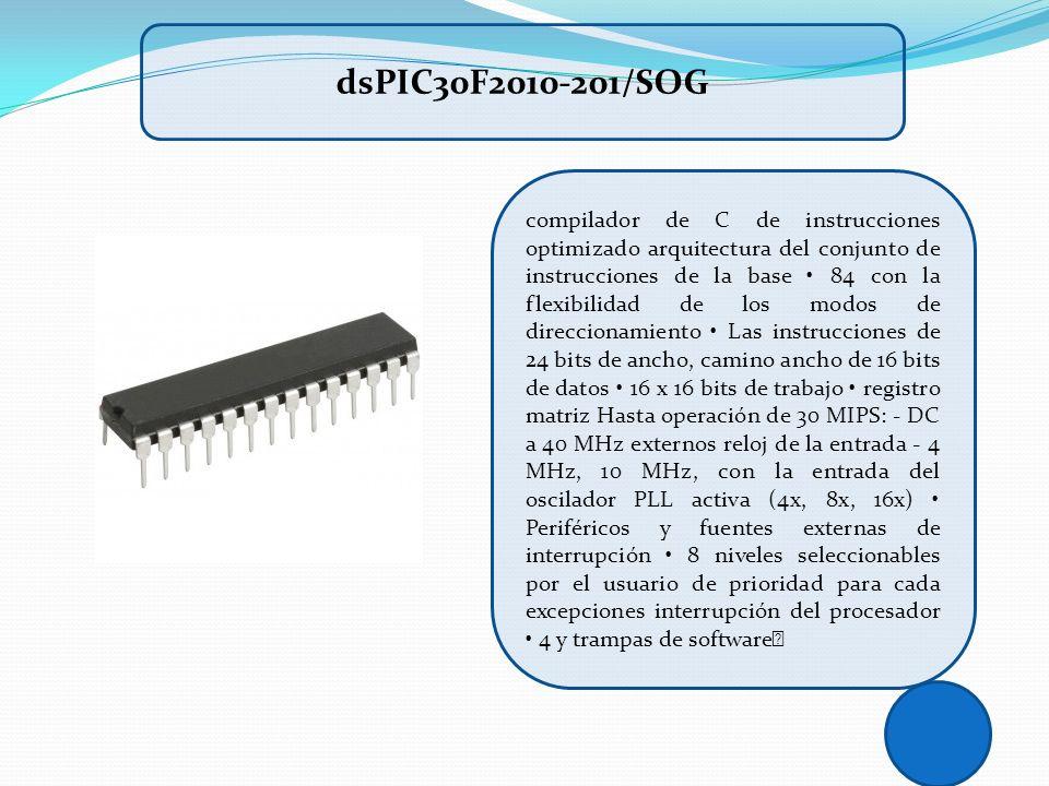 compilador de C de instrucciones optimizado arquitectura del conjunto de instrucciones de la base 84 con la flexibilidad de los modos de direccionamie